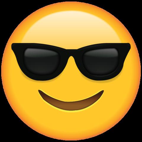 Sunglasses Emoji.