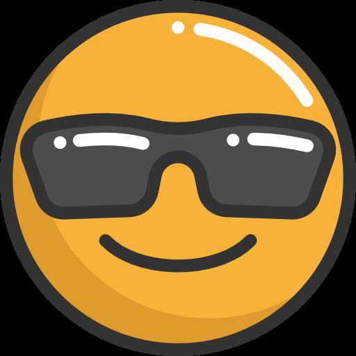 Emoji Cool Png Vector, Clipart, PSD.