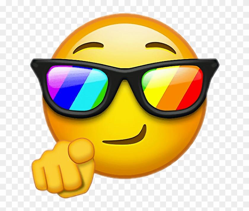 Emoji Cool Png.