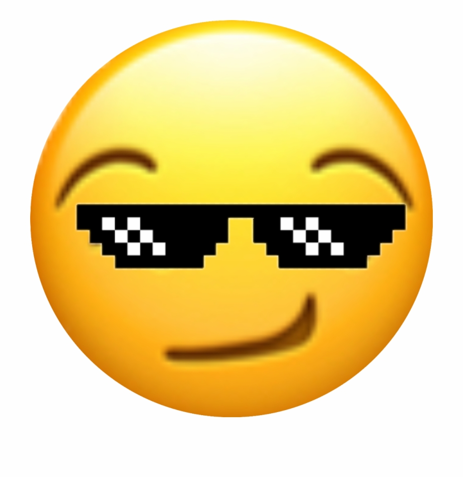 kewl #cool #smirk #glasses #shades#emojis#pixle22.
