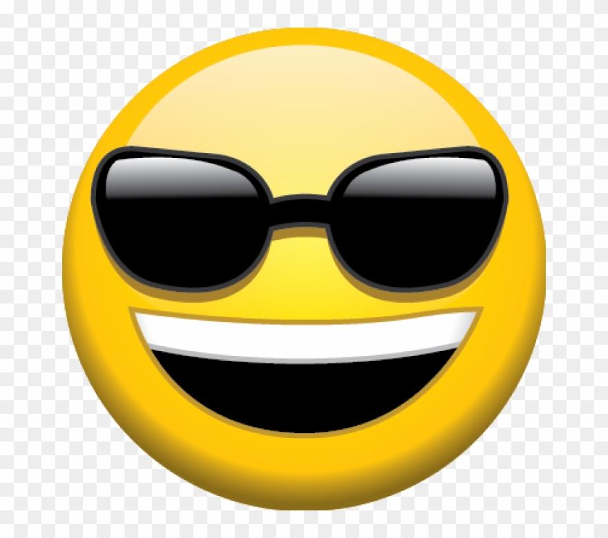 Download Sunglasses Emoji Transparent Background Hq.