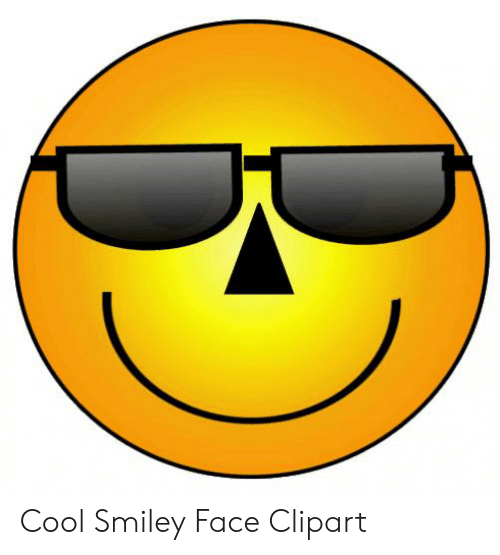 Cool Smiley Face Clipart.