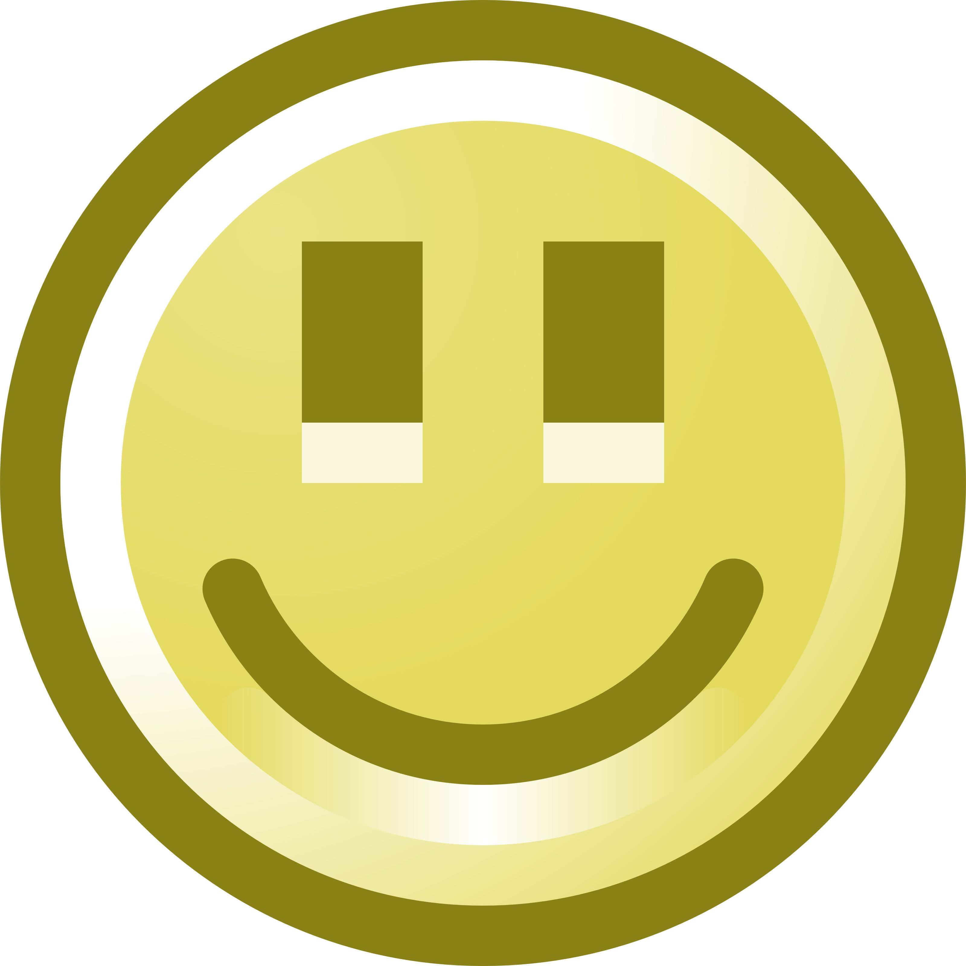 Free Smiling Smiley Face Clip.