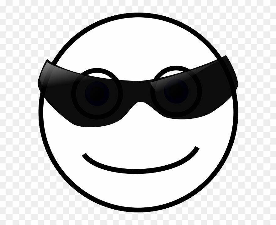 Free Vector Graphic Smiley Face Sun Sunglasses Free.