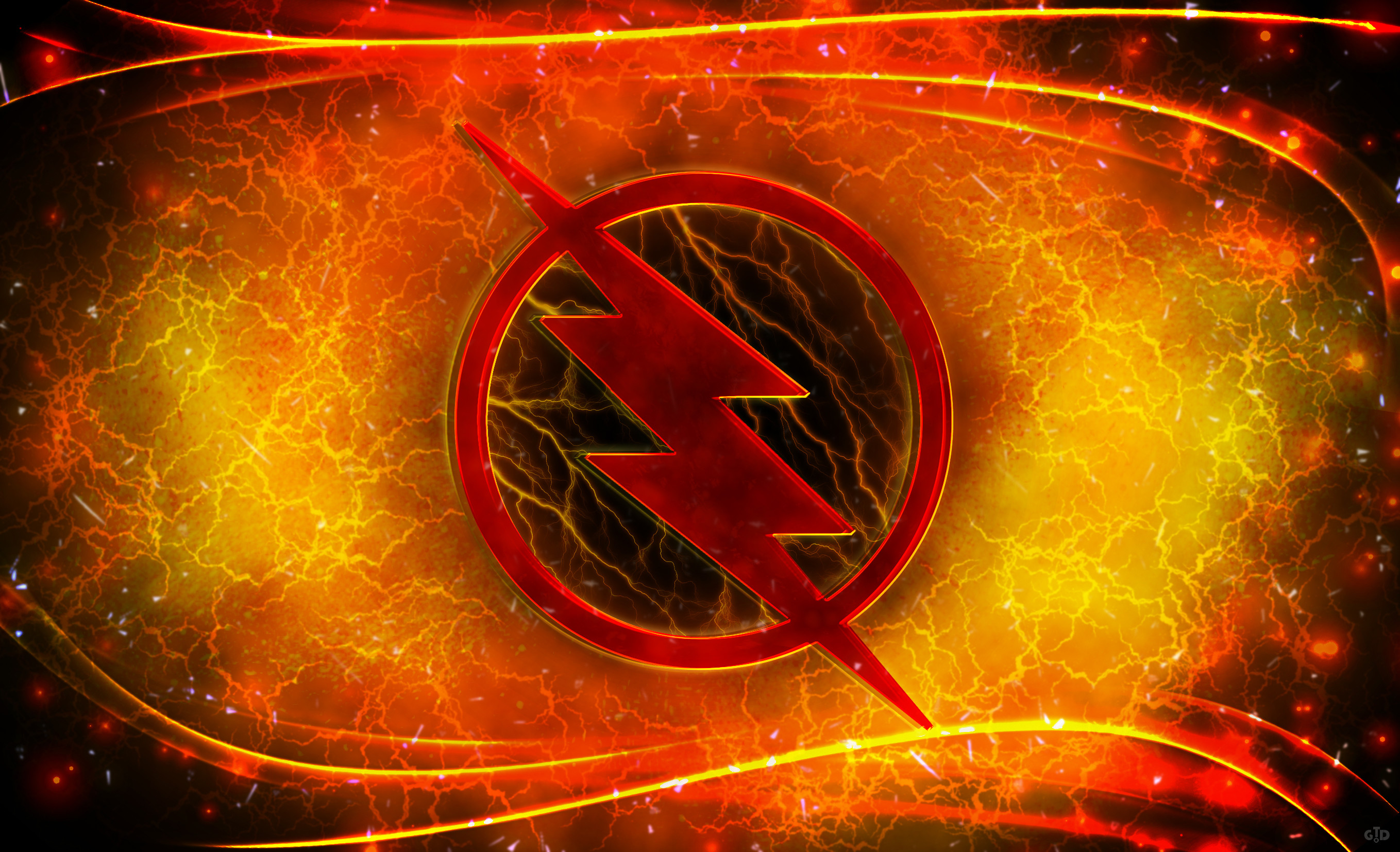 The Flash Logo Wallpaper (77+ images).