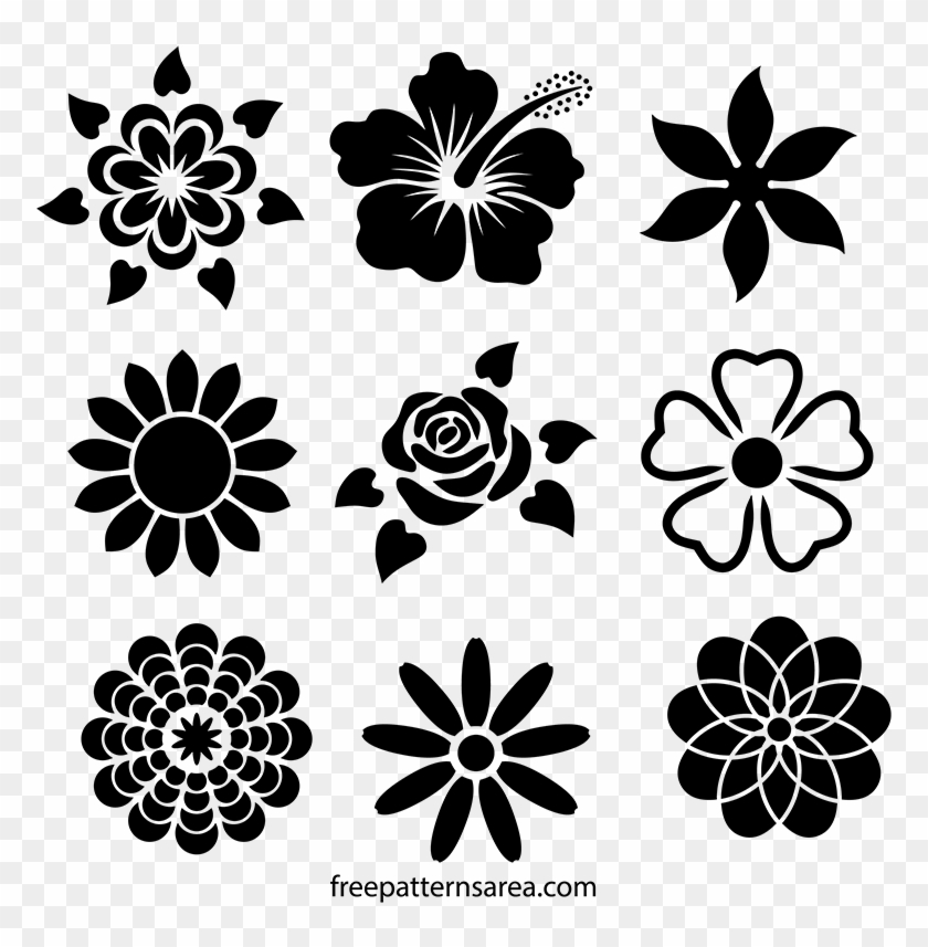 Cool Designs Clipart Stencil.