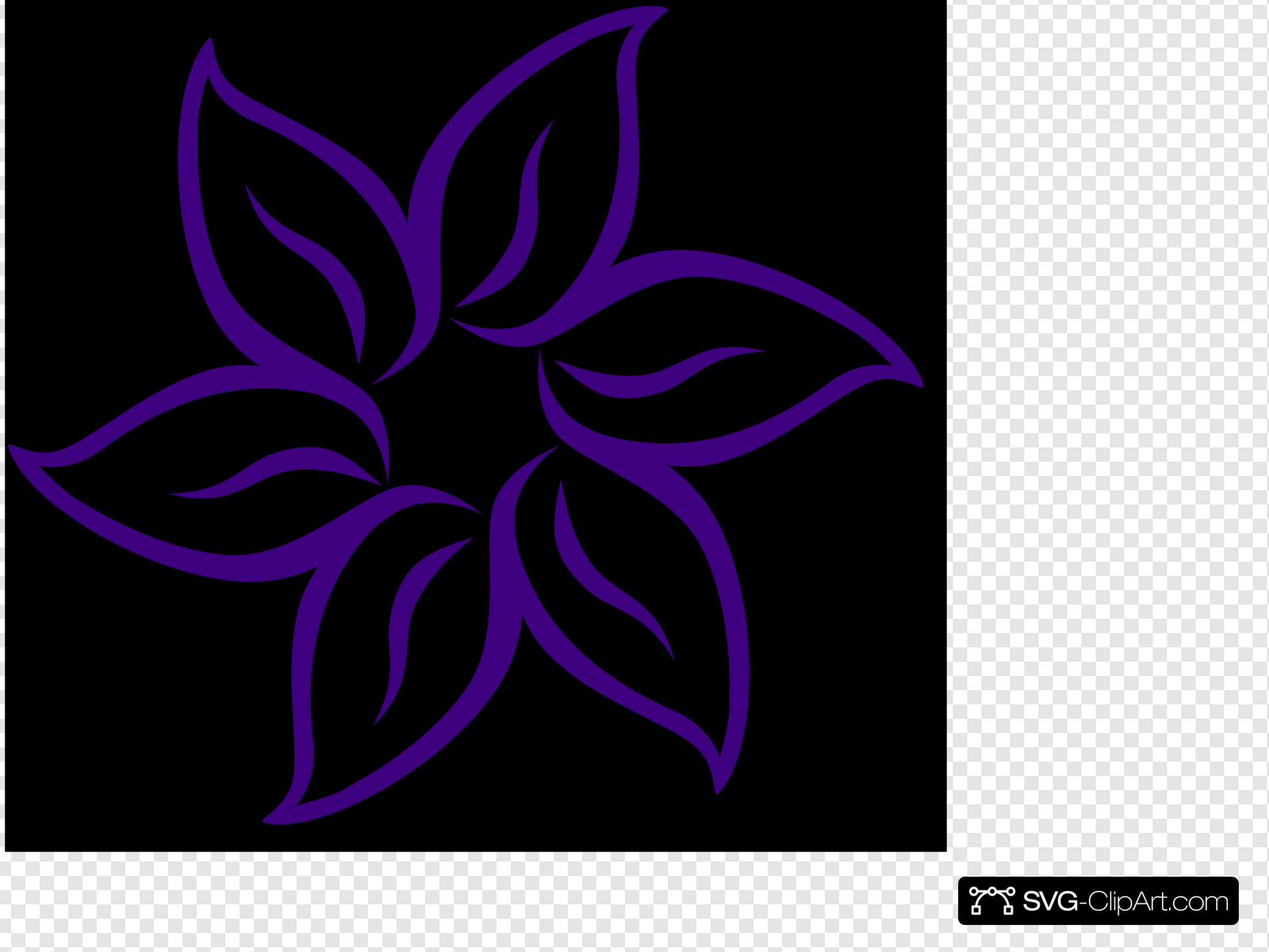 Cool Flower Clip art, Icon and SVG.
