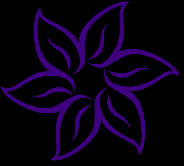 Cool Flower PNG, SVG Clip art for Web.