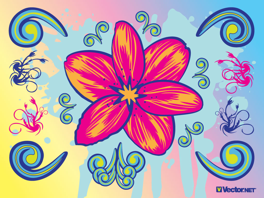 wallpaper and desktop for pc: Download this flower graphic with cool.