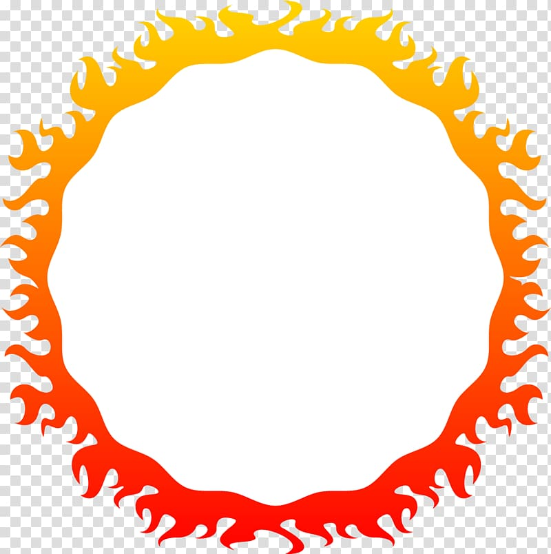 Flame Illustration, Cartoon cool flame transparent background PNG.