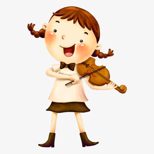Cool Girl Violin Png & Free Cool Girl Violin.png Transparent Images.
