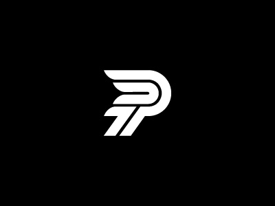 Letter P Logo Mark by Farooq Shafi on Dribbble.