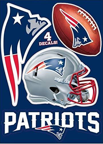 Amazon.com : New England Patriots Team Set of 4 Patriots.