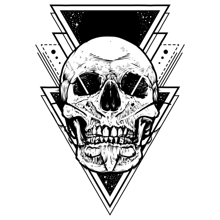 Cool Skull Tattoo Design PNG Image Free Download searchpng.com.