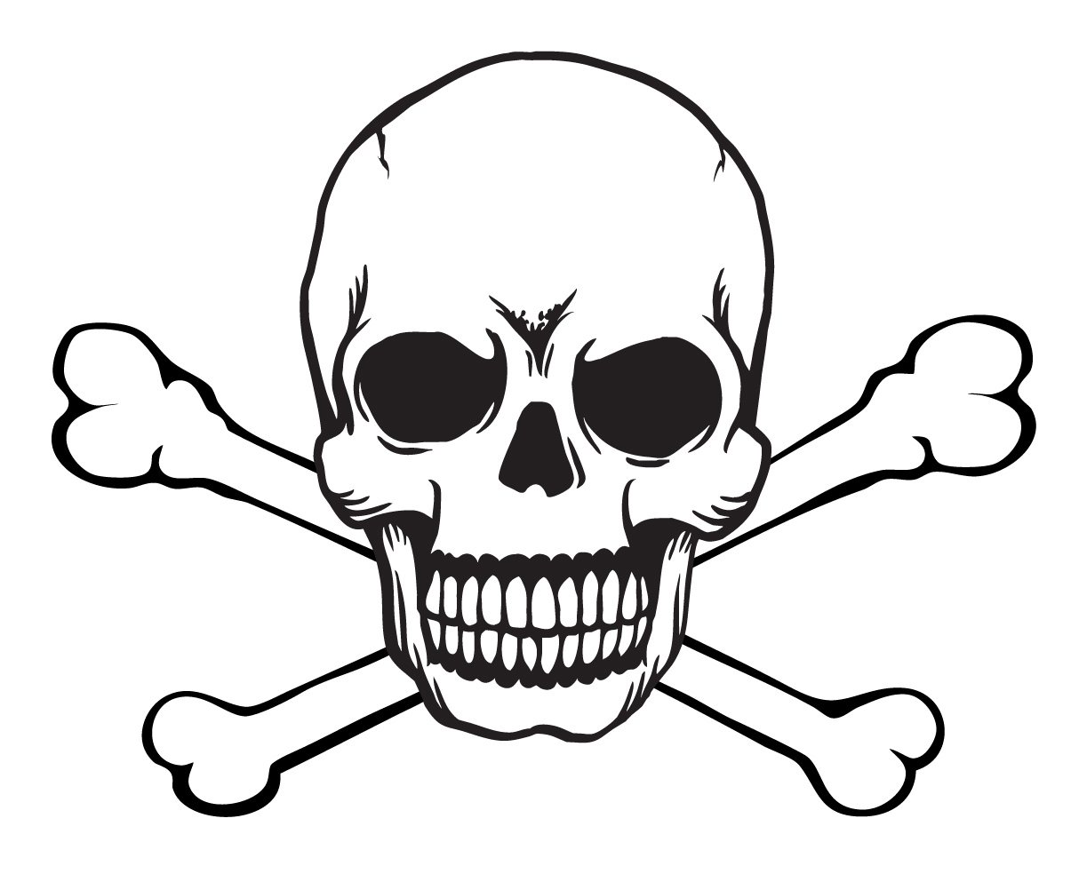 Cool Skull Clipart Clipground