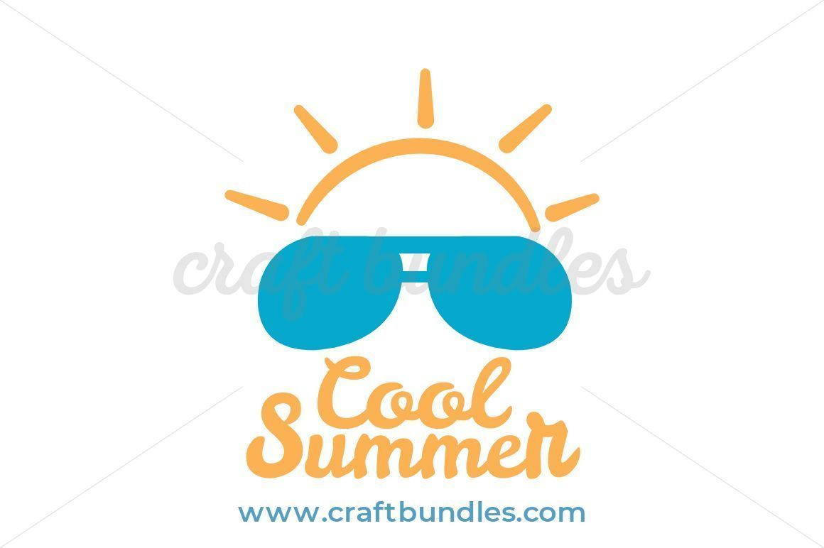 Cool Summer SVG Cut File By CraftBundles.com Summer clip art, summer.
