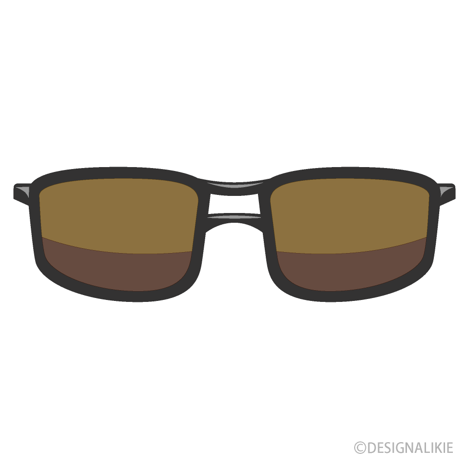 Free Cool Sunglasses Clipart Image|Illustoon.