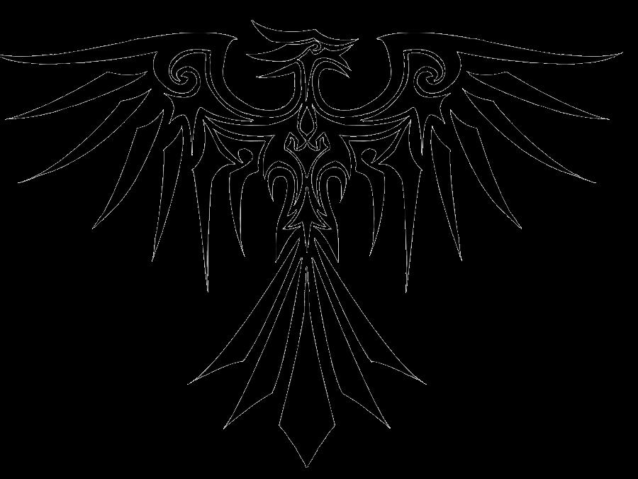 Tattoo Phoenix Clip art.