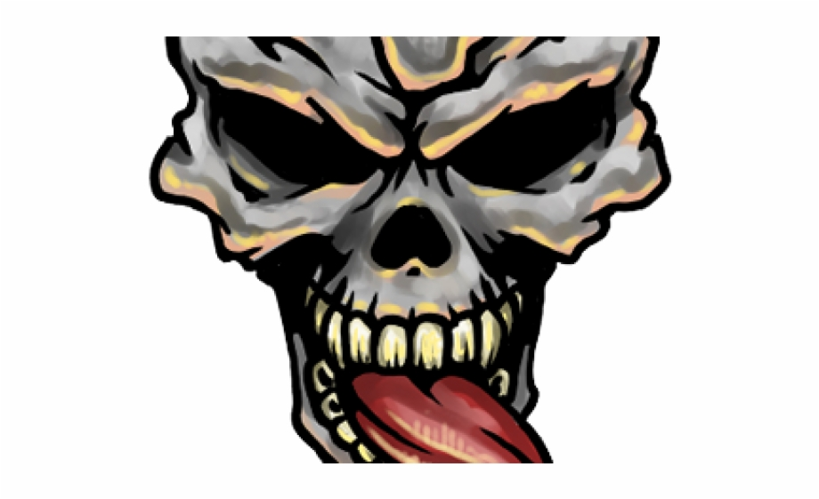 Skull Tattoo Png.
