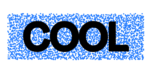 Cool Speckled Text Effect.