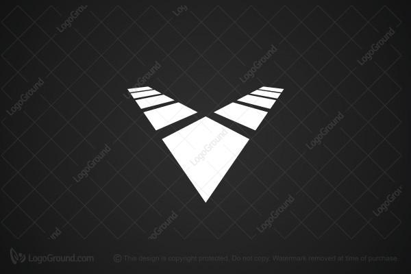 Exclusive Logo 40834, Letter V Logo.