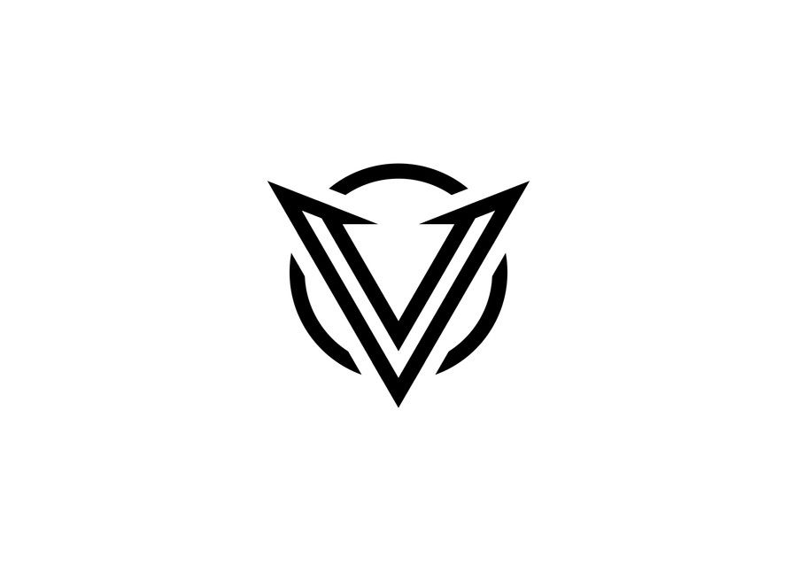 Cool Letter V Logo.