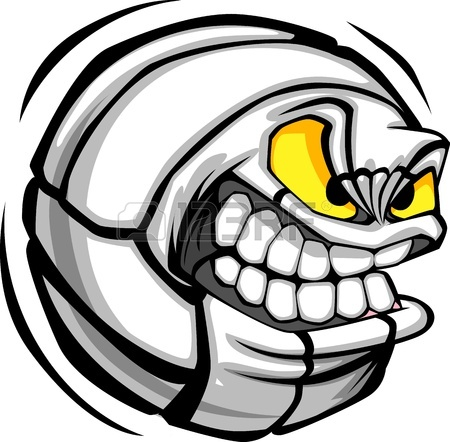 Gallery For Cool Volleyball Ball Clipart.