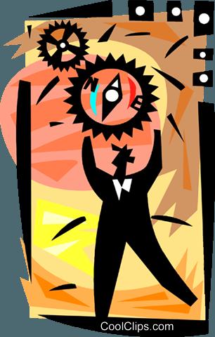 Assorted Metaphors Royalty Free Vector Clip Art illustration.