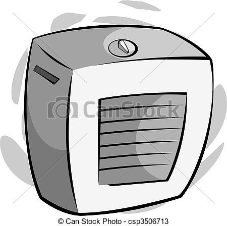 Air cooler clipart.