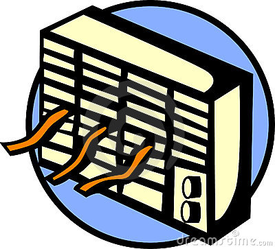 Air conditioning clipart.