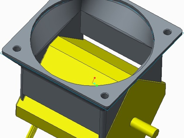 stepper motor fan/cooler (Nema) 60mm fan by MLworx.