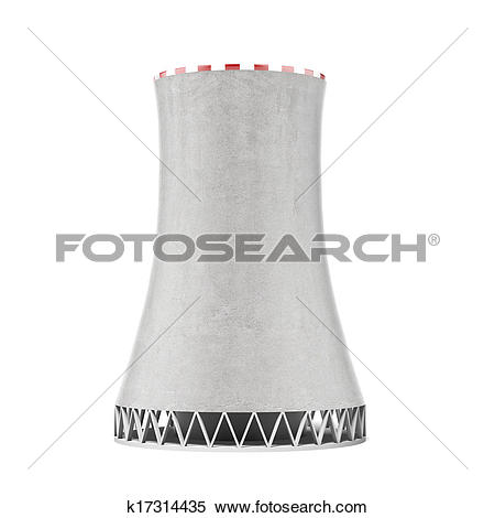 Stock Illustration of cooling tower k17314435.