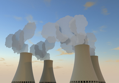 Cooling tower clipart.