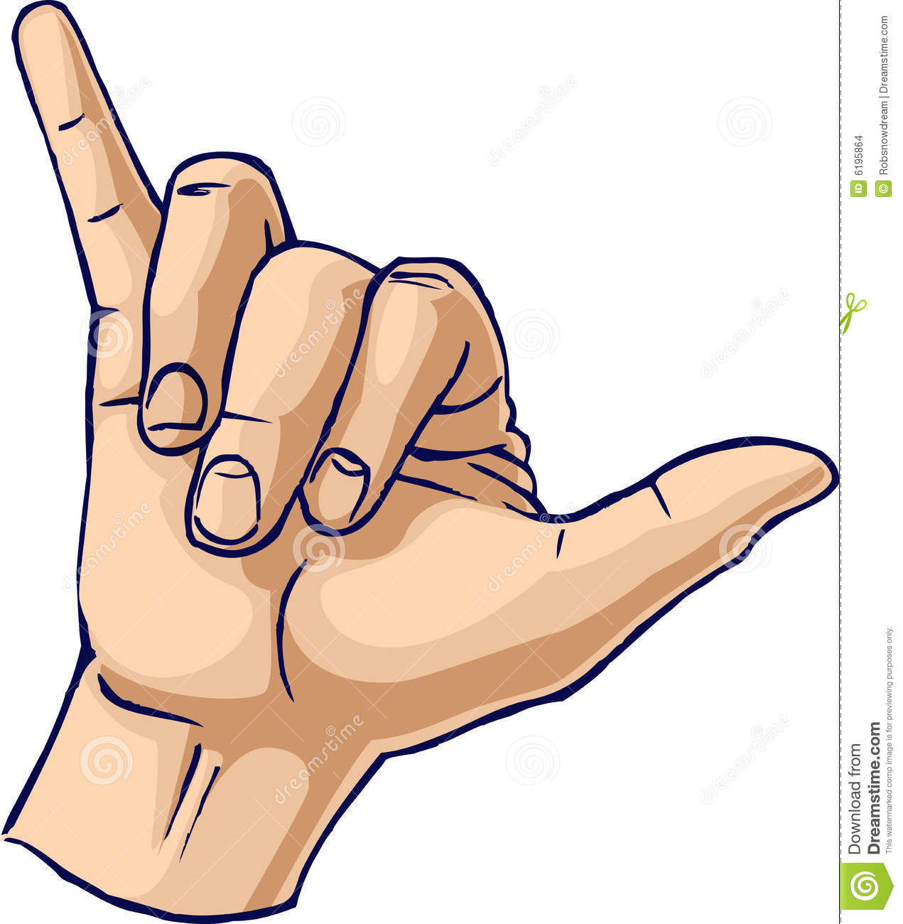 Cool Hand Gesture Stock Images.