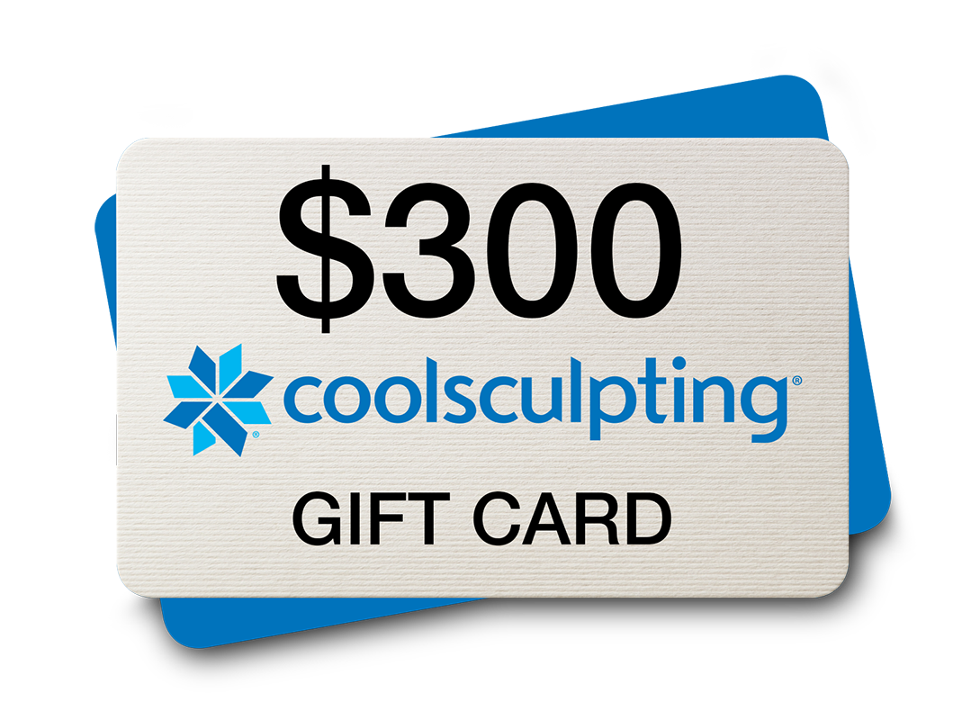 CoolSculpting® $300 Gift Card* (Fathers Day).