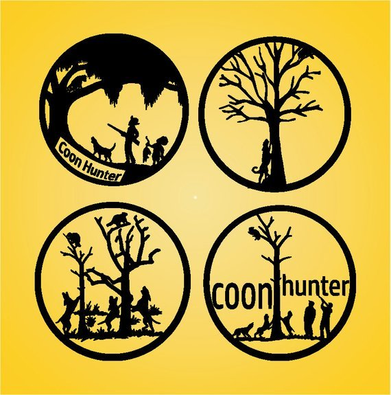 Coon hunting clipart 4 » Clipart Portal.