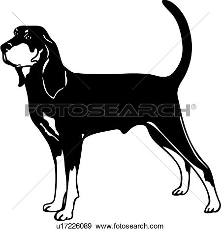Clip Art of , animal, breed, clydesdale, horse, breeds, u19442437.