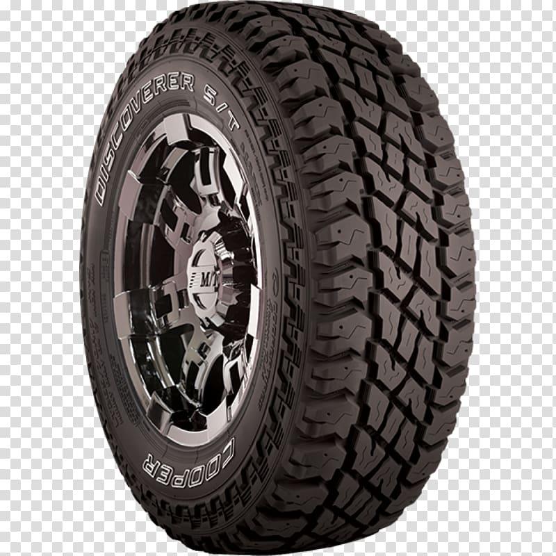 Car Cooper Tire & Rubber Company Tread Off.