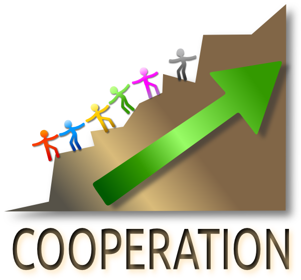 Cooperation Clipart.