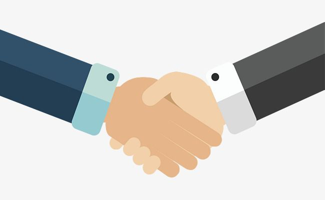Business Handshake Cooperation, Vector Png, Business Affairs.