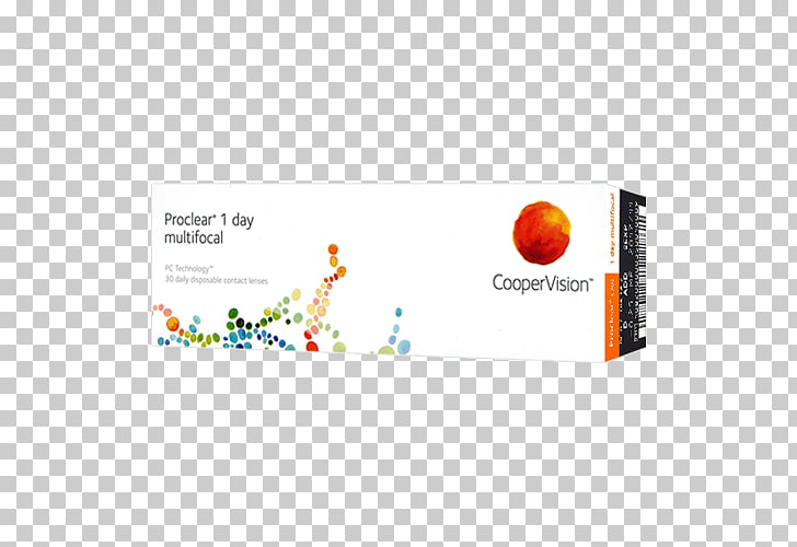 Contact Lenses CooperVision Proclear 1 Day Progressive lens.