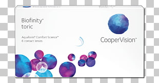 Toric lens Biofinity Toric CooperVision Biofinity Contact.