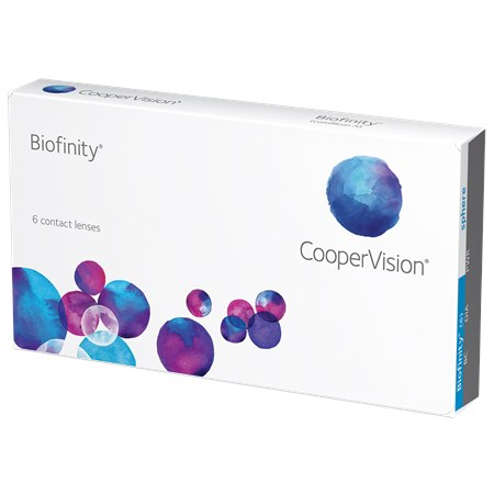 Biofinity Contact Lenses by CooperVision.