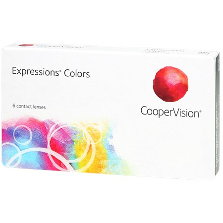 Expressions Contact Lenses by CooperVision.