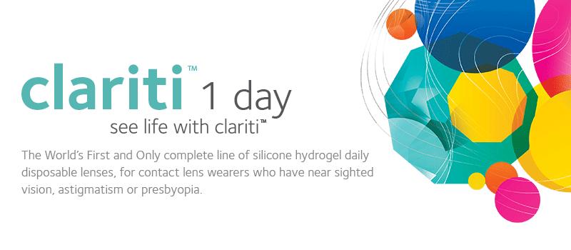 clariti 1 day Promotion.