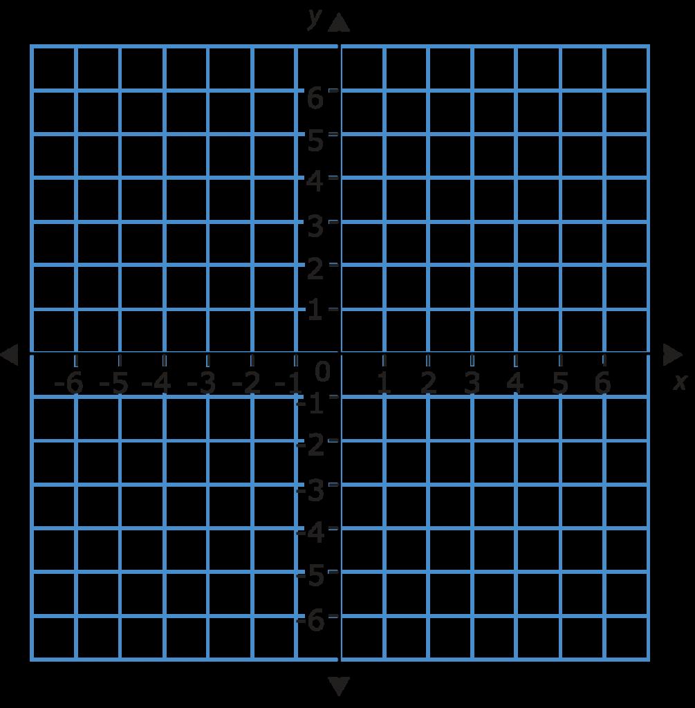 Coordinate Graph Clipart.