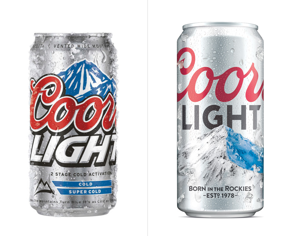 Brand New: New Logo and Packaging for Coors Light by Turner Duckworth.