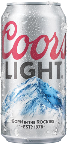 Coors Light Cans.