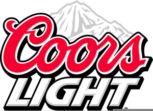 Coors Light Can Clipart.