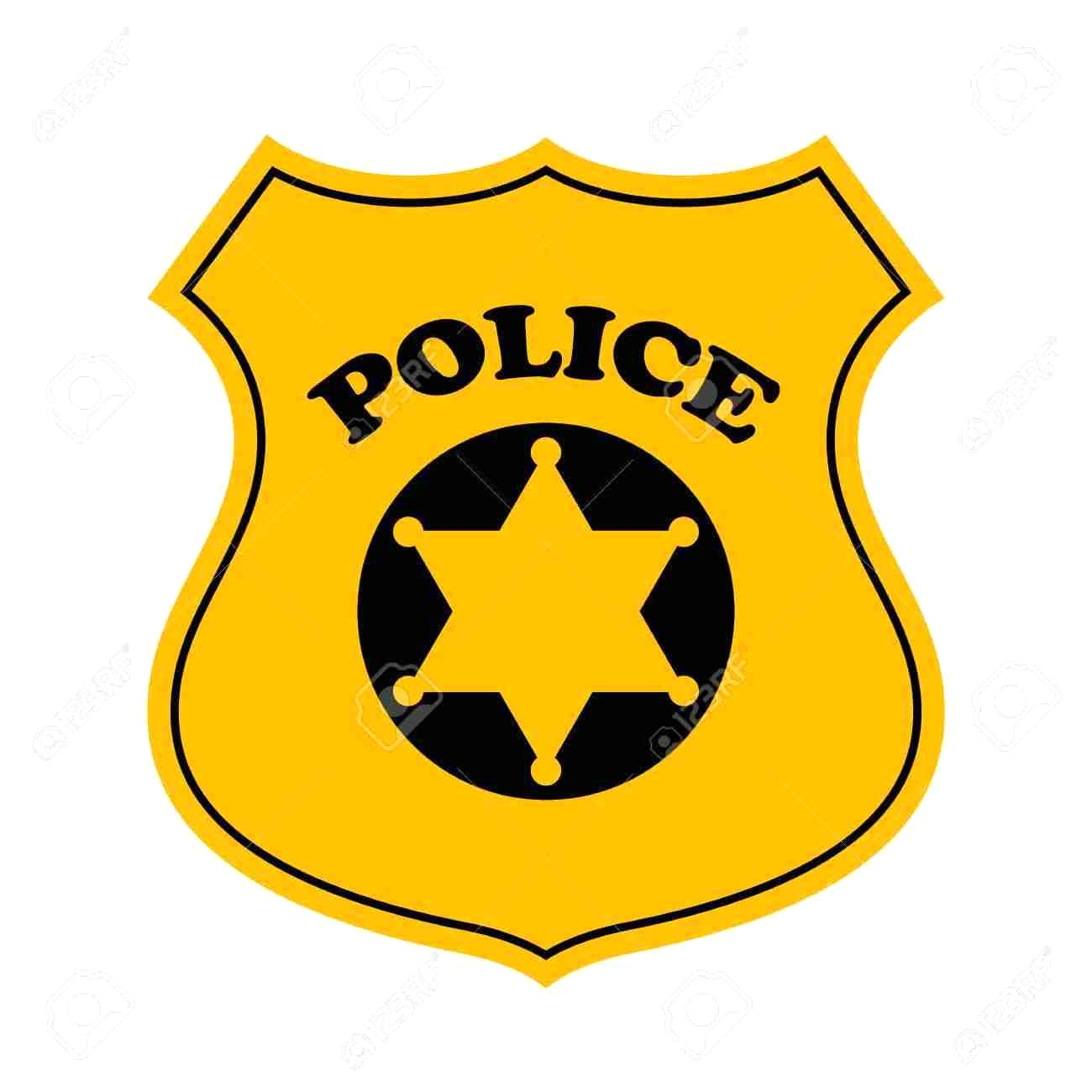 Police officer badge clipart 1 » Clipart Station.